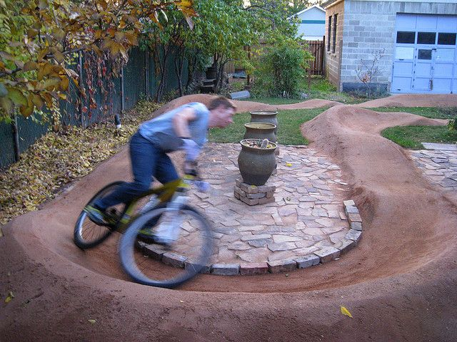 I feel like this is the future of my yard with boys. :)