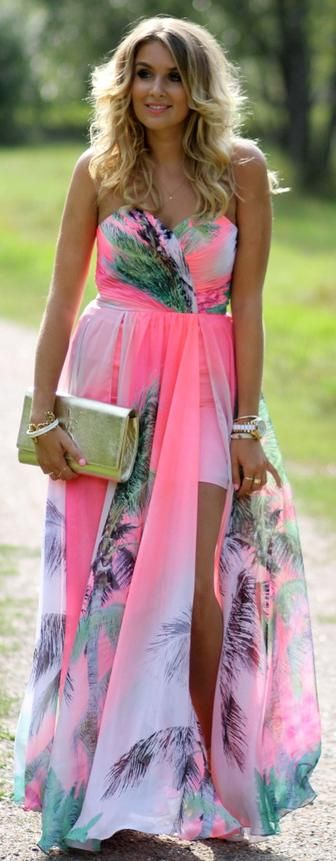 Pretty  for wearing to a summer wedding