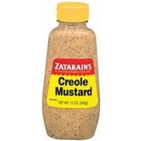 I've used a variety of spicy mustards, but I always seem to turn back to Zatarain's Creole Mustard. It's a nice blend of stone ground mustard and tang. Great for sandwiches, potato and pasta salads or anywhere you need a spicy mustard.
