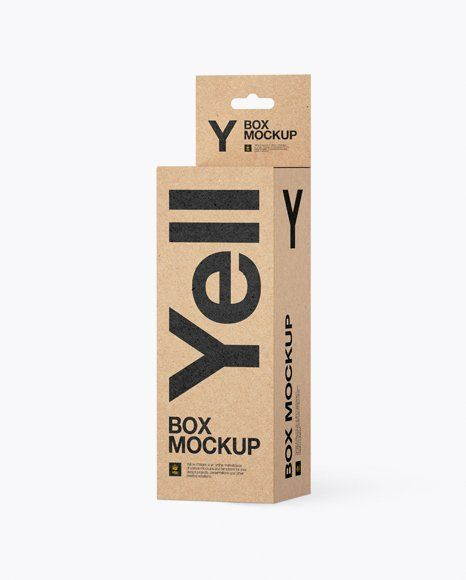 Download Box Packaging Mockup Free Matte Cosmetic Jar With Box Mockup In Jar Mockups On Yellow Images In 2020 Mockup Free Psd Free Psd Mockups Templates Psd Mockup Template