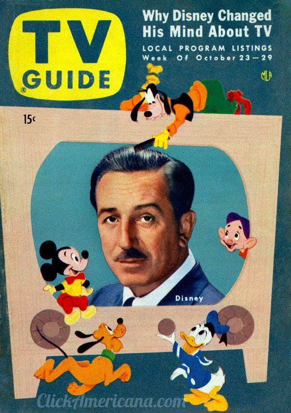 Walt Disney TV shows in the 1950   Walt Disney's Disneyland, the TV show (1954)