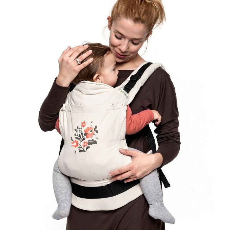 Liliputi® Soft Baby Carrier - Naturalle MATYÓ Limited edition 100% handmade embroidery. Design by Matyodesign. For back, front and hip carry. Organic Cotton Fabrics, GOTS (Global Organic Textile Standard) certification, custom weaved and dyed exclusively for us, Made in the EU #liliputistlye #ssc #handmadebabycarrier #babycarrier #embroidery #handmadeembroidery