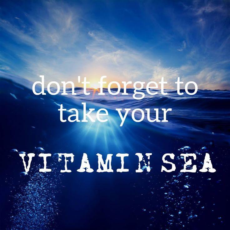 Das wichtigste Vitamin für ein ausgeglichenes Leben :-)  #vitaminsea #reiselust #travelquotes #bucherreisen