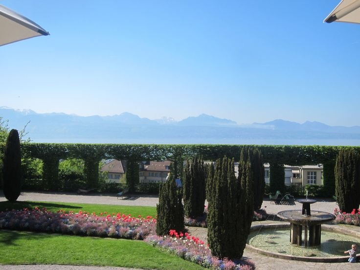 This is the vieew from Casino de Montbenon in Lausanne. It's the venue for TEDxLausanneWomen, on May 28th, 2015