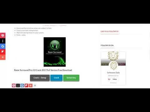 download razer surround pro free