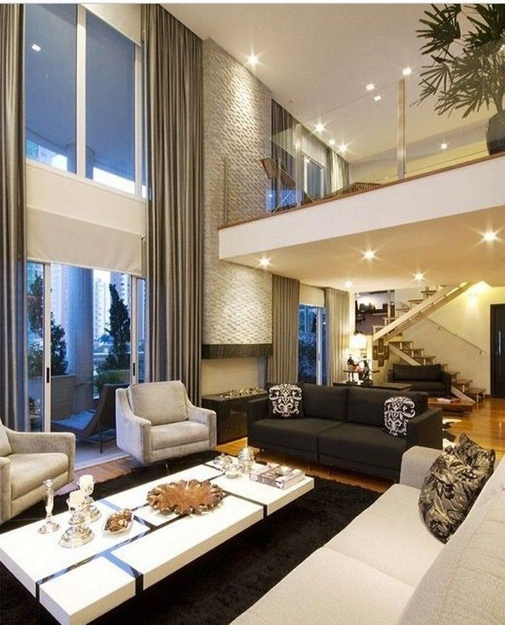 37 Stylish Design Pictures: 37 Interesting Modern House Interior Ideas That You Must