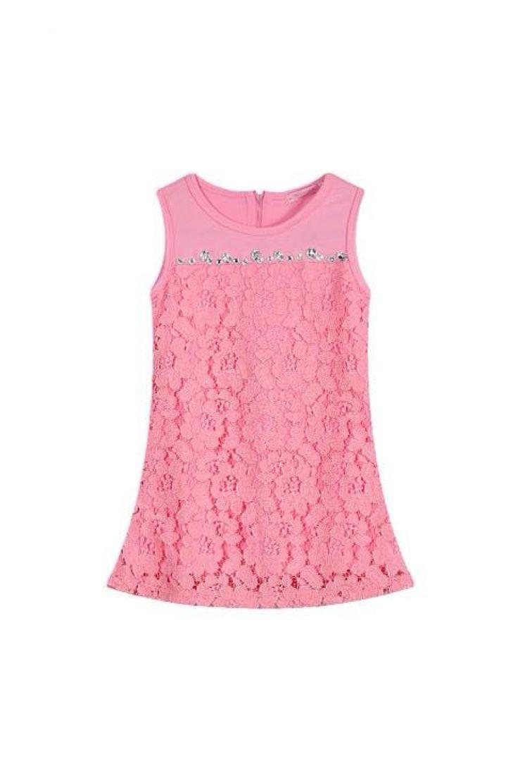 Lace Dress - Pink Izzybizzi Kidswear!