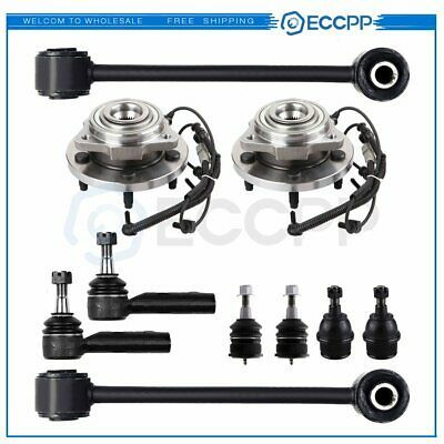 Advertisement Ebay 10pc Wheel Bearing Hubs Tie Rods Ball Joint Sway Bar Link For Jeep Commander With Images Jeep Commander Jeep Control Arm
