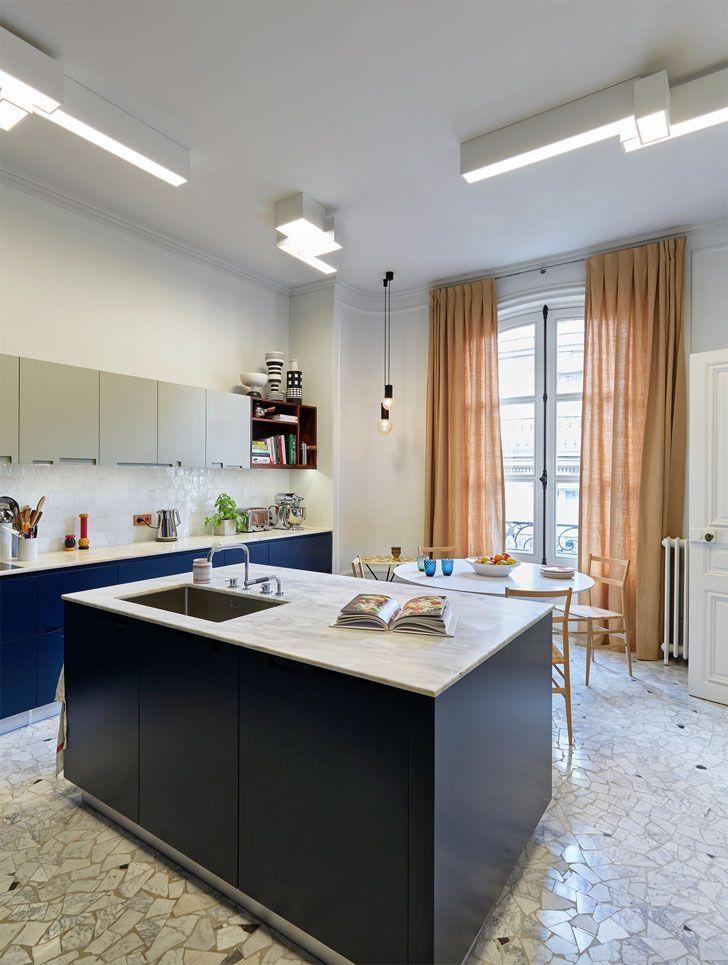 Великолепный парижский интерьер | Дизайн квартиры в Париже