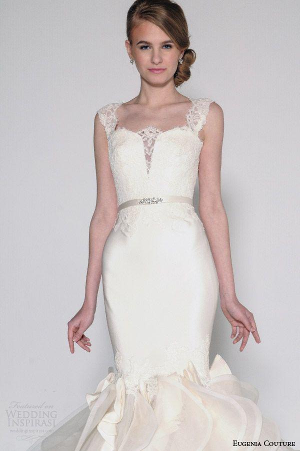 Eugenia Couture Spring 2016 #Wedding Dresses | Wedding Inspirasi #bridal #wedding #weddings #weddingdress #weddinggown
