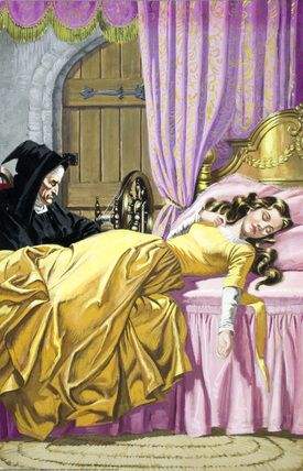 Ladybird Sleeping Beauty I love reading these books, the drawings were so beautiful.