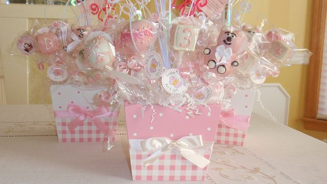 Cake Pop Centerpieces For Baby Shower : Cake+Pop+Centerpieces+for+Baby+Shower Baby Girl Baby ...