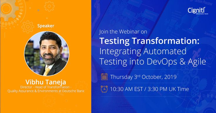 Automated testing ensures quicker testing execution & a