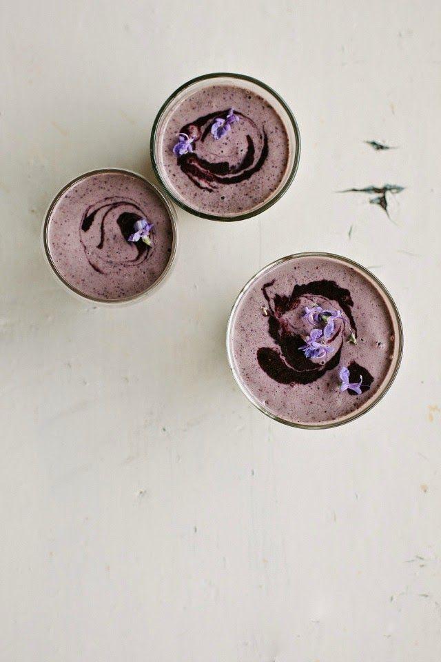 vegan blueberry power smoothie recipe | my darling lemon thyme