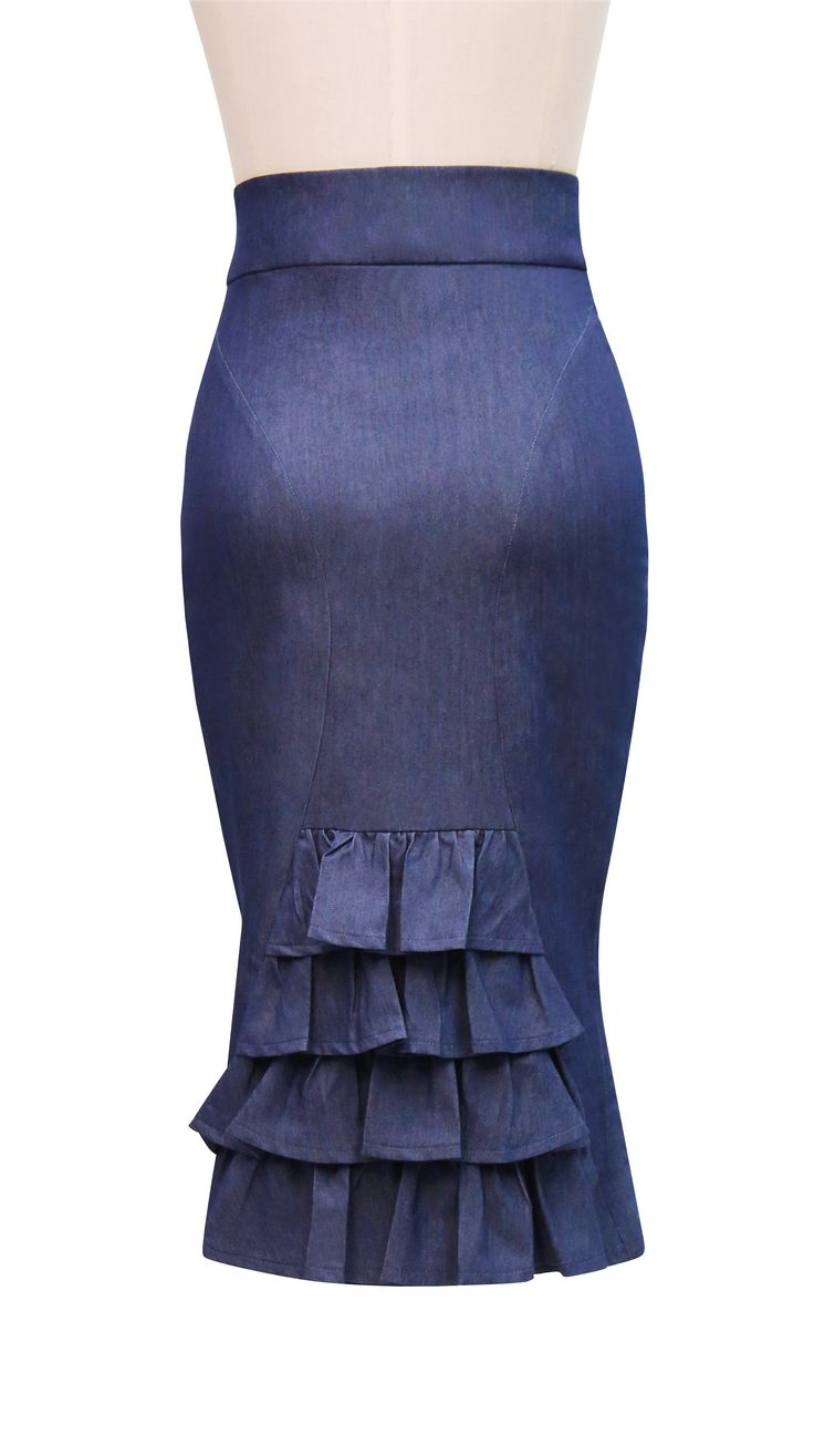 Midnight In Paris Bustle Skirt