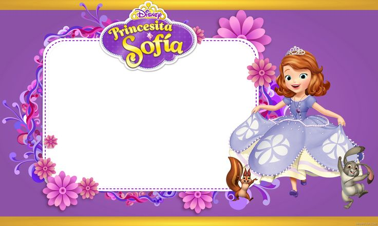 Sofia Birthday Invitations is adorable invitation template