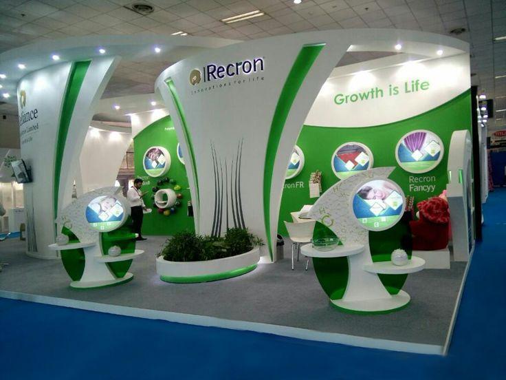 exhibition stands heimtextil india show for Reliance Recron