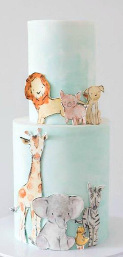 Zoo Friends Cake