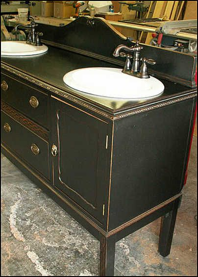 167 best images about old dresser turns into bathroom - Antique bathroom sinks and vanities ...