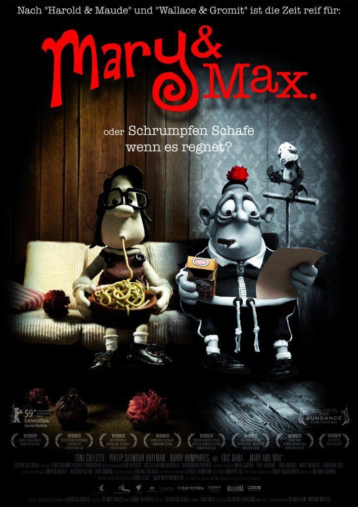 Mary And Max 2009 Izle 2020 Film Posteri Film Animasyon