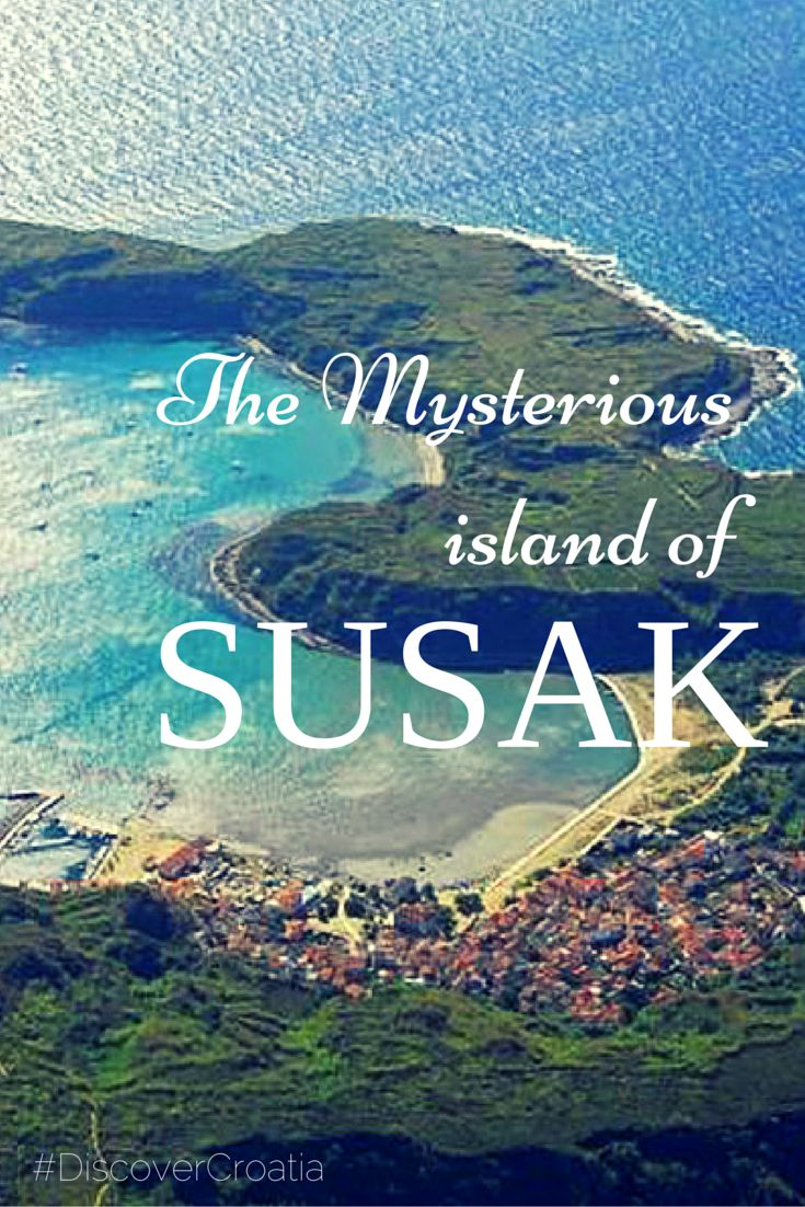 The mysterious island of Susak, Croatia.
