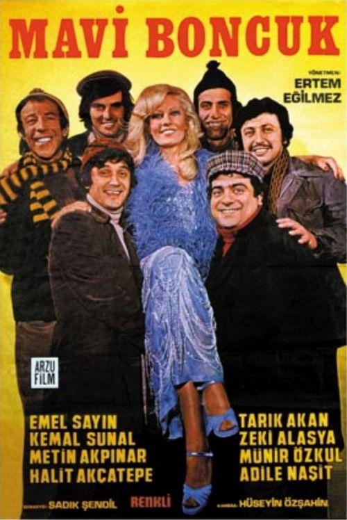 mavi boncuk - emel sayın, tarık akan, kemal sunal, zeki alasya, metin akpınar, münir özkul, halit akçatepe / 1974