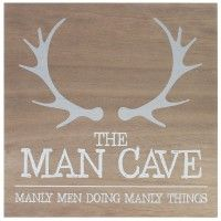 FATHER'S DAY GIFT -  Man Cave Sign