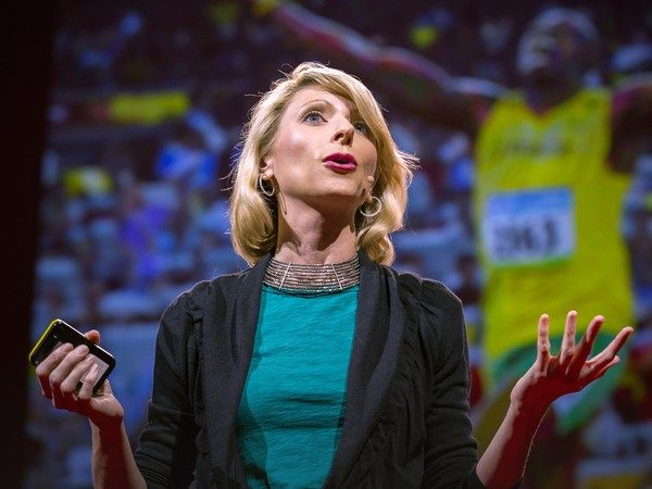 Amy Cuddy....Your body language shapes who you are