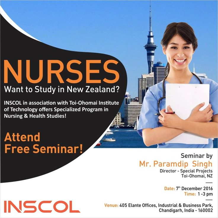 Great Opportunity for #Nurses who wish to 'Study and Live' in #NewZealand.
