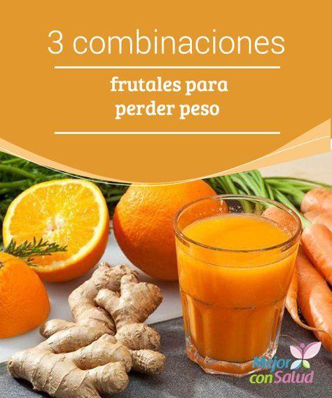 3 combinaciones frutales para perder peso Las combinaciones de frutas son un recurso excepcional para perder peso. Seguro que conoces, por ejemplo, los grandes beneficios del licuado de betabel (remolacha), manzana y zanahoria. ¡Deliciosa!