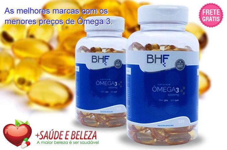 O melhor custo-benefício do Brasil em Ômega 3 é aqui!   Aproveite nossa #MegaPromoção em Ômega 3 com Frete Gratis. O preço vai subir a qualquer momento. Saiba mais sobre os benefícios do Ômega 3 à saúde.   Temos mais #SuperOfertas para você se cuidar com economia. Confira!  http://www.maissaudeebeleza.com.br/p/209/kit-omega-3-1000mg---3-potes-com-120-capsulas?utm_source=pinterest&utm_medium=link&utm_campaign=Nutrimais&utm_content=post