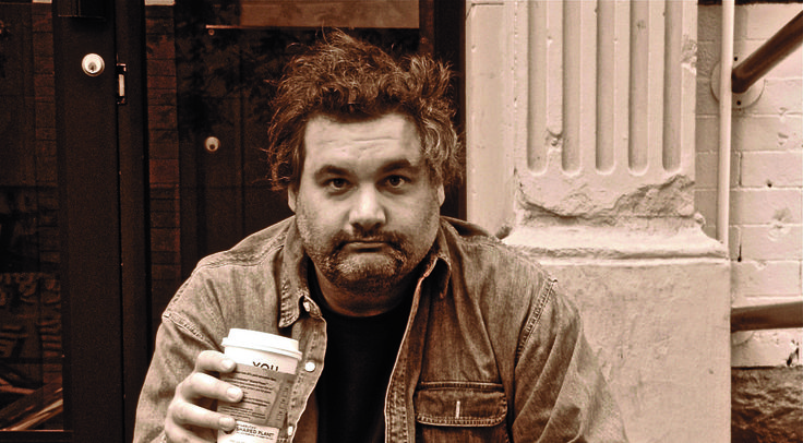 Artie Lange - crazy man, good photo