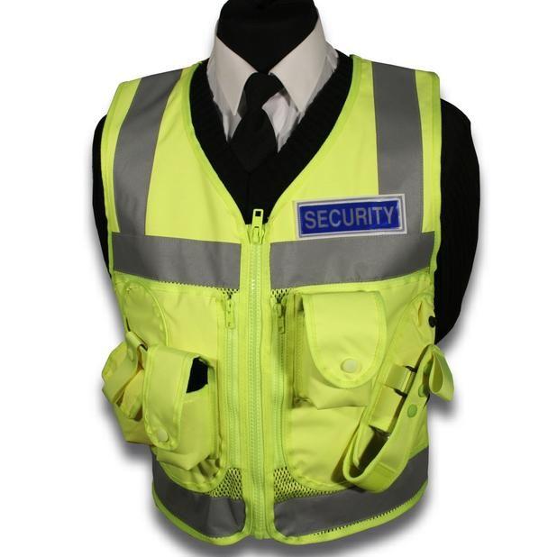 Protec Security Guard High Visability Tactical Vest