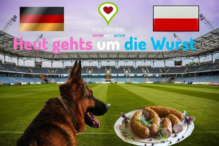 Heut gehts um die Wurst! Holt euch den Gruppensieg!  #dfb #dfbelf #diemannschaft #em #euro2016 #euro #gerpol #jederfuerjeden  #bayern #bavaria #mingagram #minga #münchen #jogi  #youappme #datingmeetsaction