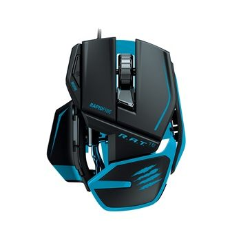 Mad Catz R.A.T.TE Mouse for PC and Mac - Mat sort