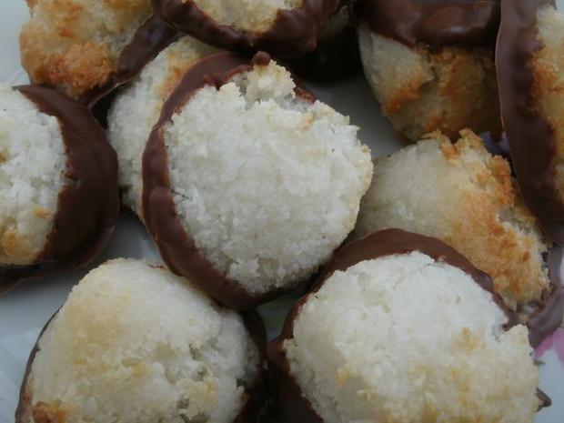 Rezept: Kokosmakronen vegan Bild Nr. 5