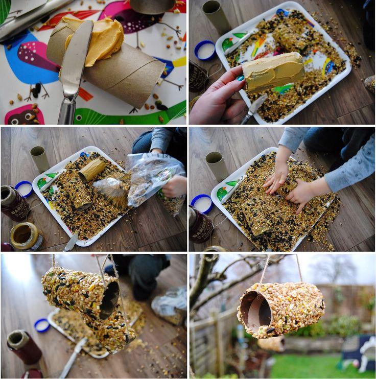 żiżi ...a peek into my crazy world: Karmniki dla ptakow- DIY