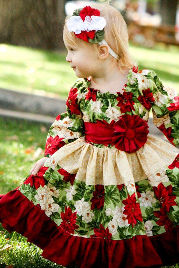 Christmas baby dresses on pinterest baby girl christmas dresses