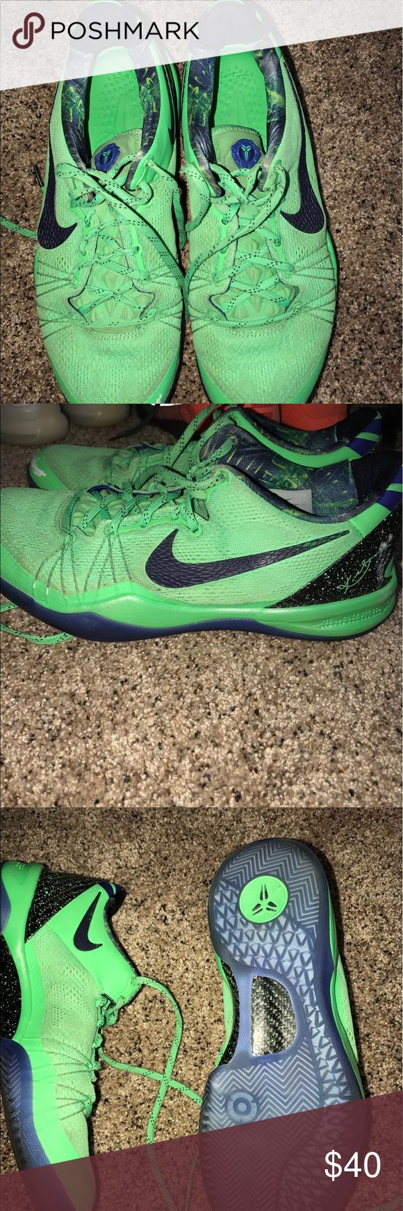 Kobe basketball shoes size 9.5 in men's I love these shoes they have been worn a good bit Nike Shoes Athletic Shoes