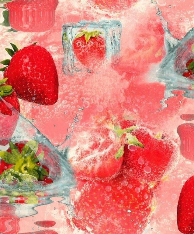 """Настоящая Клубничка! Очень """"сладкие"""" обои из последнего обновления каталога 🍓♥ #клубничка #oboiland #strawberry"""