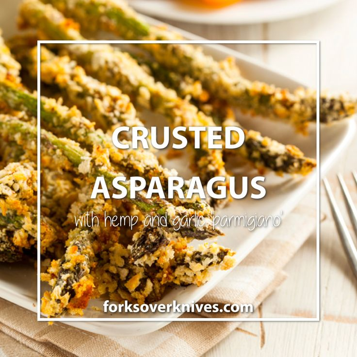 Herb-Crusted Asparagus Spears
