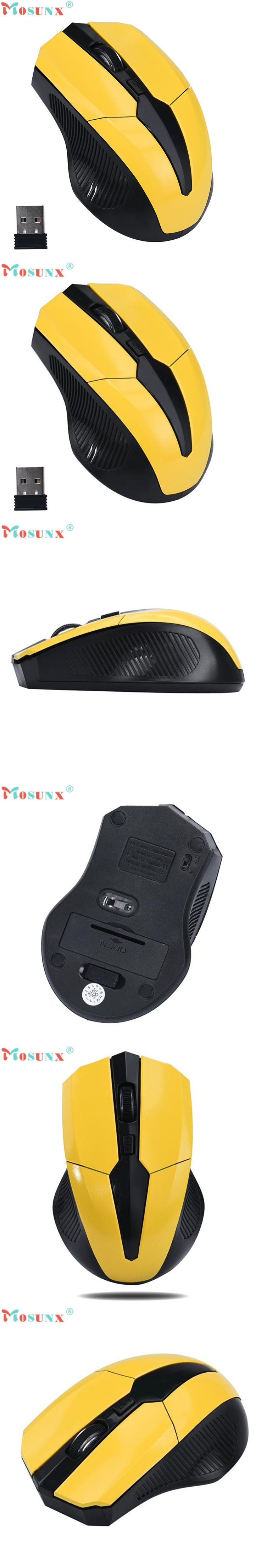 2.4GHz Mice Optical Mouse Cordless USB Receiver PC Computer Wireless for Laptop Gaming Mouse;Maus;raton para juegos SP26