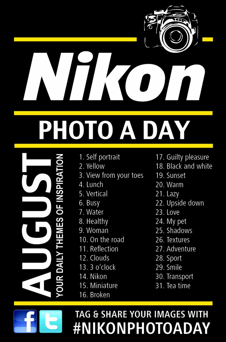 Photography challenge for August, by Nikon SA! #nikonphotoaday