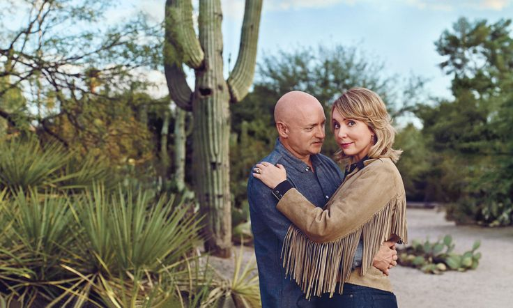 Gabby Giffords and Mark Kelly are Glamour's couple of the year for their work in making America safer from gun violence! Congratulations!