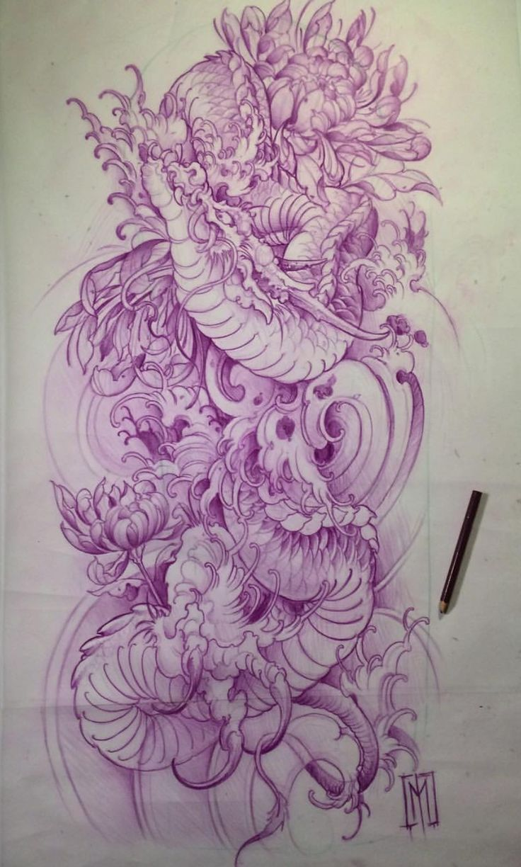 Coole Tattoovorlage