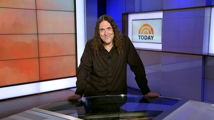 Surprise! Weird Al makes music history — and Willie Geist's day