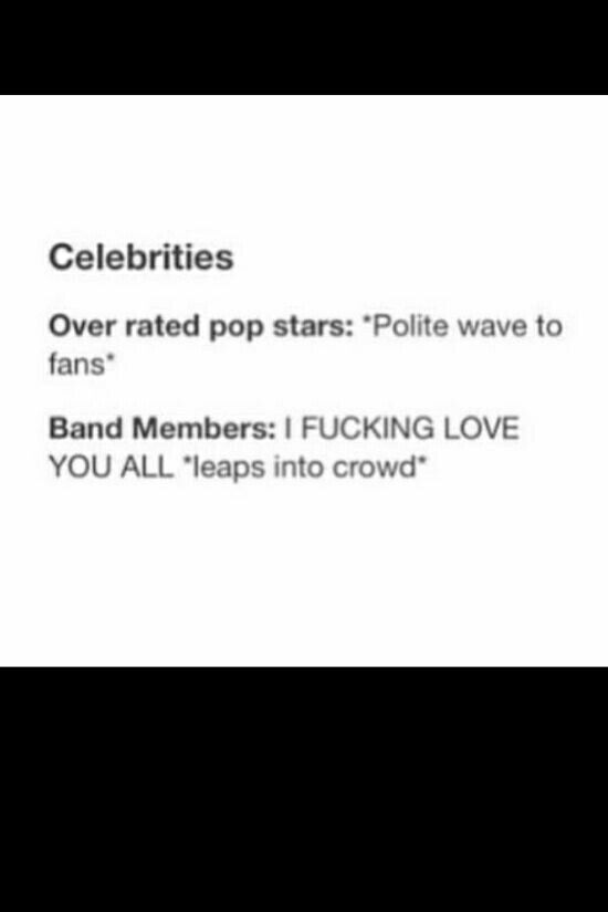 Band members are better