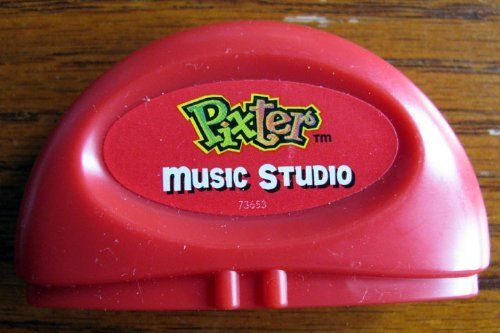 "Pixter Software: Music Studio Deluxe Expansion Cartridge by Fisher Price. $14.94. Plug a Pixter deluxe software cartridge into your Pixter creativity system (sold separately) to add lots of new activity themes to your basic Pixter system. All activities have cool sound effects, music and more. Music Studio lets you create and replay your own music. Mix the instruments to make your own songs, or build a band and watch them play. Or, try ""Musical Memory,"" where you have to r..."