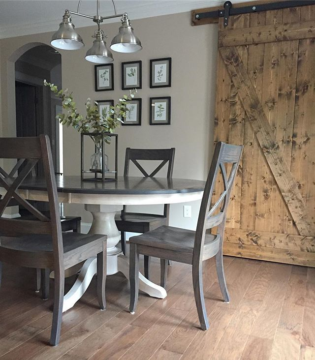 Furniture Dining And Kitchen Tables Farmhouse Industrial: Best 25+ Round Farmhouse Table Ideas On Pinterest