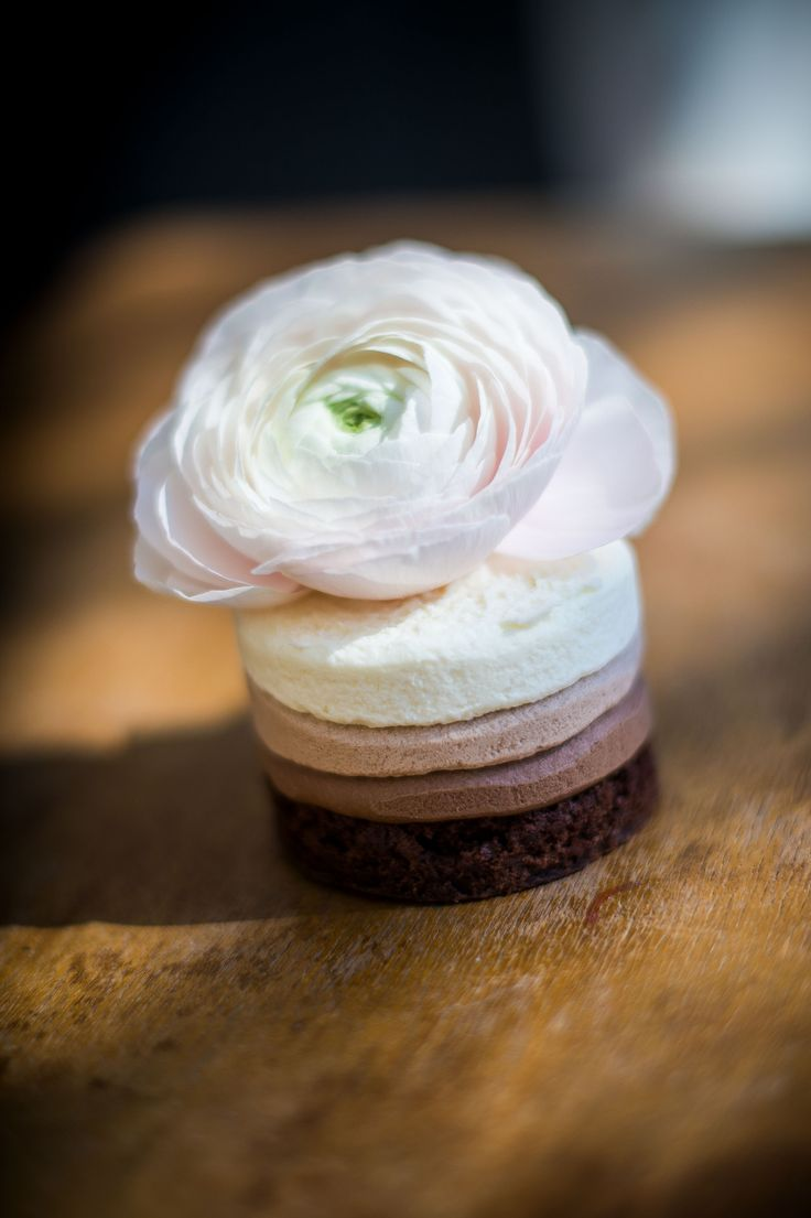 nekedcake tortácska rosa flower wedding love